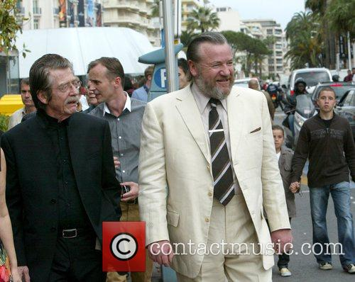 John Hurt and Ray Winstone