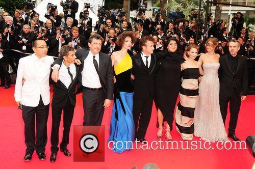 Urors Alfonso Cuaron, Alexandra Maria Lara, Alfonso Cuaron, Natalie Portman, Sean Penn and Sergio Castellitto