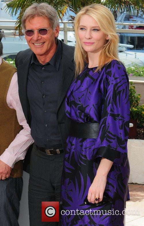 Cate Blanchett and Harison Ford The 2008 Cannes...