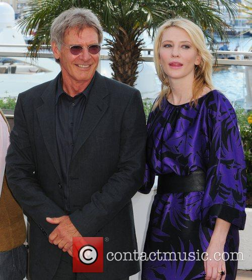 Harison Ford and Cate Blanchett The 2008 Cannes...