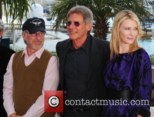Steven Spielberg, Harison Ford and Cate Blanchett The...