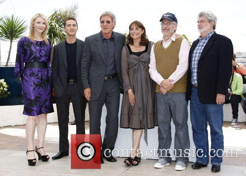 Cate Blanchett, Shia LaBeouf, Steven Spielberg, Harison Ford,...