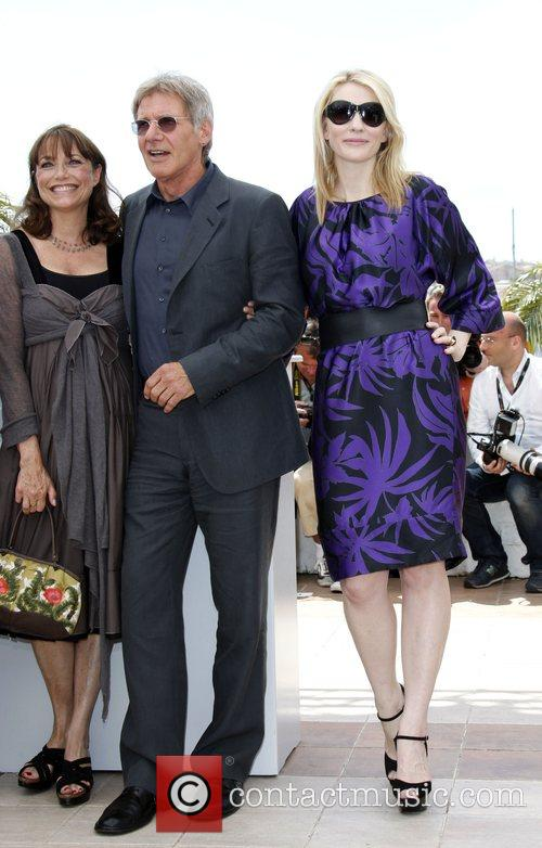Harisson Ford and Cate Blanchett The 2008 Cannes...