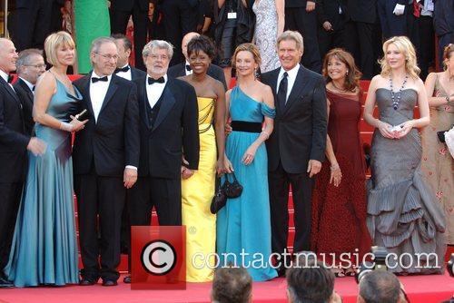 Steven Spielberg, George Lucas, Calista Flockhart, Harison Ford...