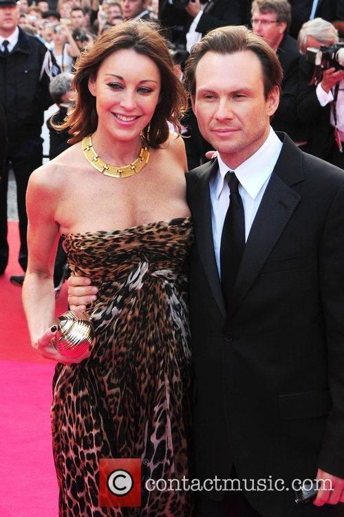 Chrisitan Slater and Tamara Mellon The 2008 Cannes...