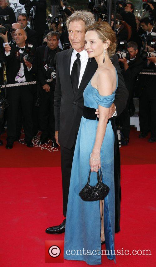 picture harrison ford and calista flockhart at cannes film festival 2008 cannes film festival. Black Bedroom Furniture Sets. Home Design Ideas