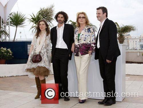 Joana Hadjithomas, Rabih Mroue, Catherine Deneuve and Khalil...