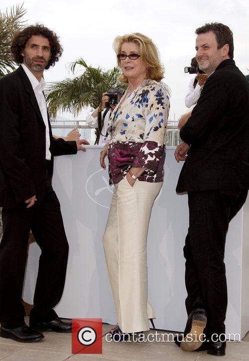 Rabih Mroue, Catherine Deneuve and Khalil Joreige The...