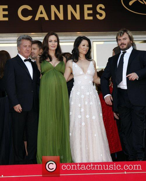 Dennis Hoffman, Angelina Jolie and Lucy Liu 1