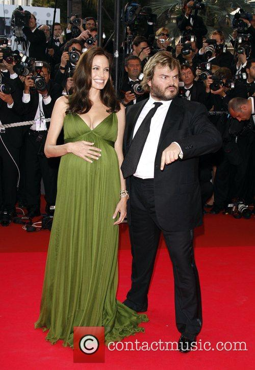 Angelina Jolie and Jack Black The 2008 Cannes...
