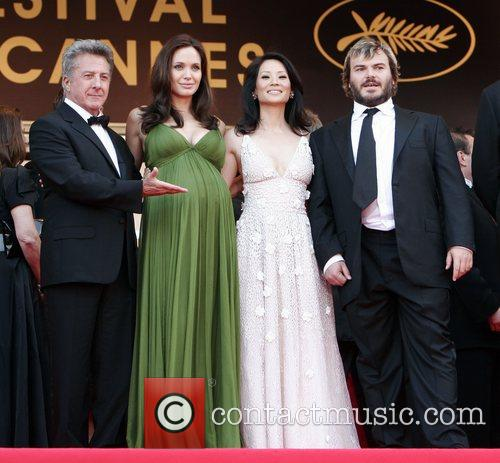 Dustin Hoffman, Angelina Jolie and Lucy Liu 2