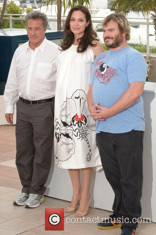 Dustin Hoffman, Angelina Jolie and Jack Black 2