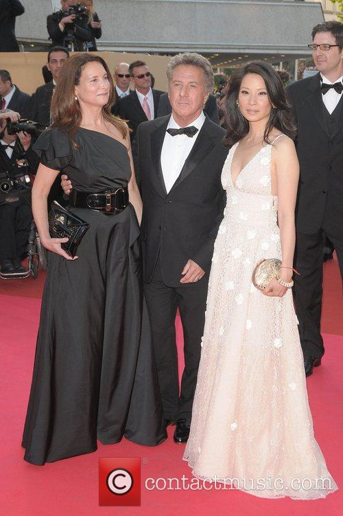 Lisa Gottsegen, Dustin Hoffman and Lucy Liu The...