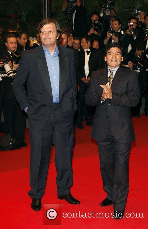 Emir Kusturica and Diego Maradona 2