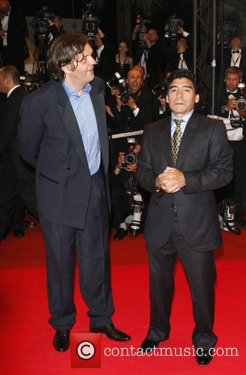 Emir Kusturica and Diego Maradona 1