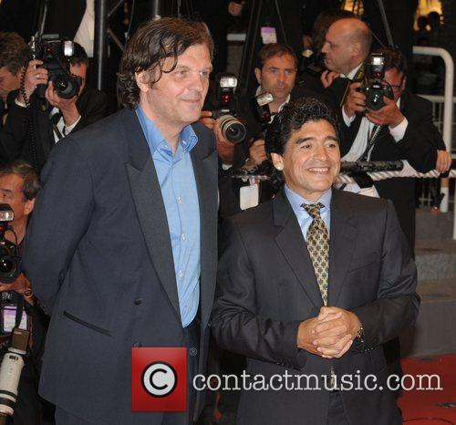 Diego Maradona, Cannes Film Festival, 2008 Cannes Film Festival