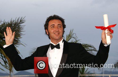 Jury Prize award winner Director Paolo Sorrentino for...
