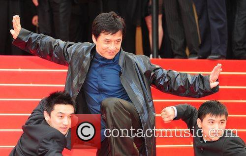 Jackie Chan, Cannes Film Festival, 2008 Cannes Film Festival