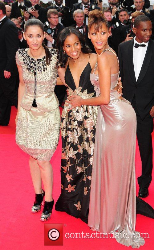 Guest, Noemie Lenoir and Kerry Washington The 2008...