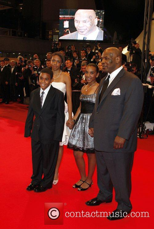Mike Tyson and family The 2008 Cannes Film...
