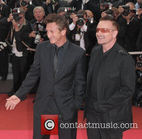 Sean Penn and Bono 5