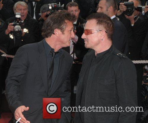 Sean Penn and Bono 4