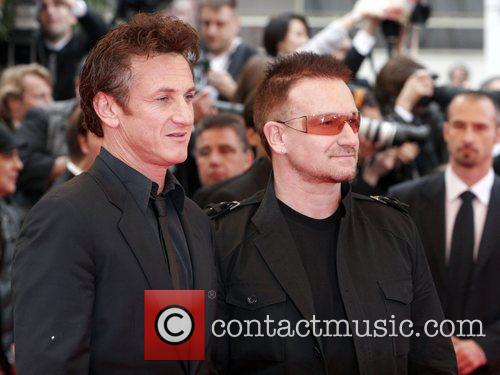 Sean Penn and Bono 2