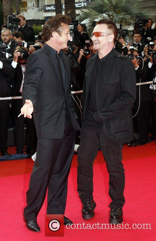 Sean Penn and Bono 1