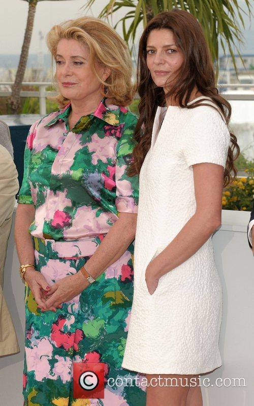 Catherine Deneuve and Chiara Mastroianni The 2008 Cannes...