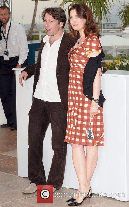 Mathieu Amalric and Emmanuelle Devos The 2008 Cannes...