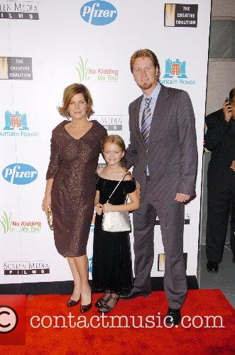 Marcia Gay Harden with her daughter Eulala Scheel...