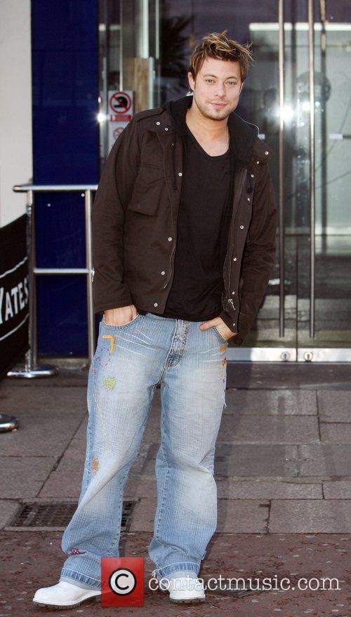 Duncan James leaving the Capital FM studios