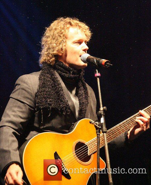 Craig McLachlan Cardiff City's Christmas lights get switched...