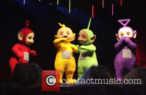Telly Tubbies Cardiff City's Christmas lights get switched...