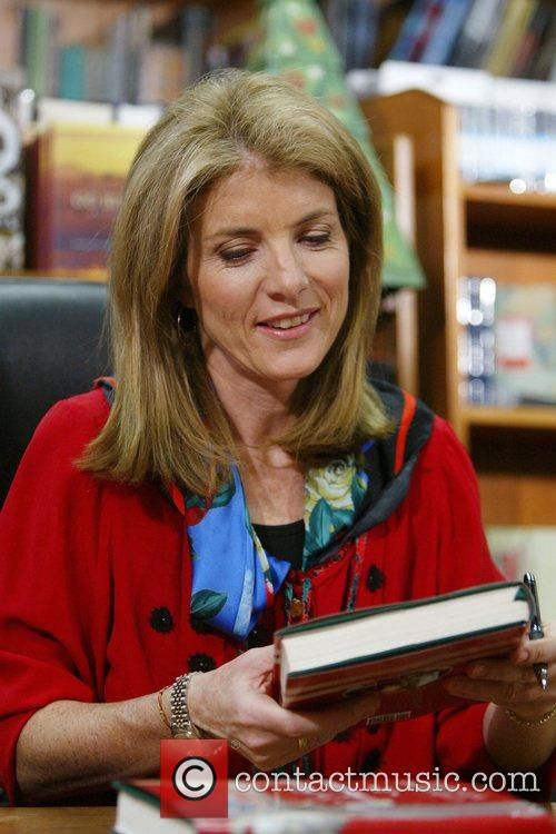 Caroline Kennedy signs copies of her new book...