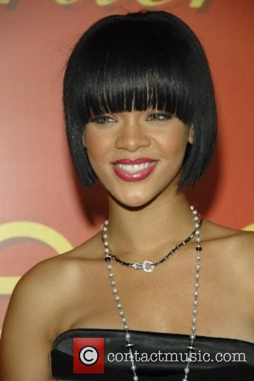 Rihanna at the Cocktail party in celebration of...