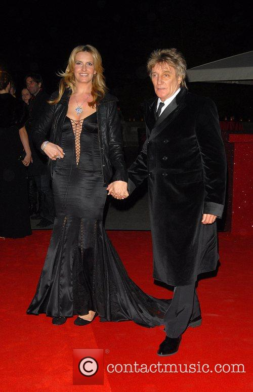 Penny Lancaster and Rod Stewart Cartier dinner to...