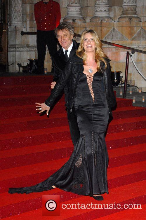 Rod Stewart and Penny Lancaster Cartier dinner to...