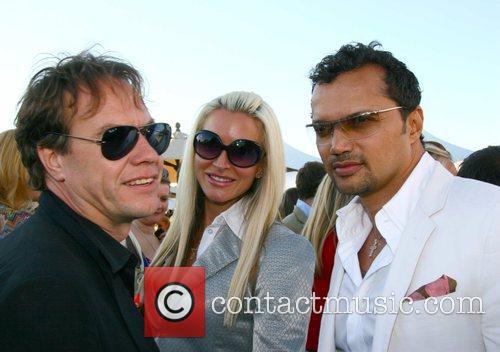 Caprice Bourett and boyfriend John Hitchcox (L) Cartier...