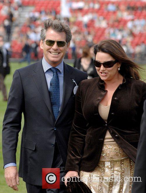 Pierce Brosnan and Keely Shaye Smith Cartier International...
