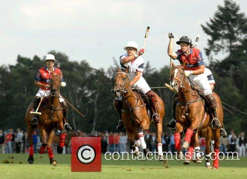 England vs Chile Cartier International Polo Guards Polo...