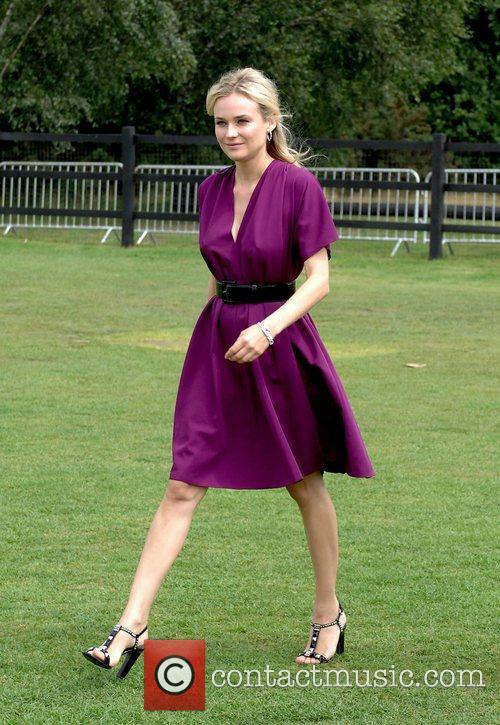 Diane Kruger Cartier International Polo Guards Polo Club...