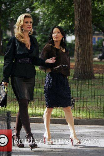 Bonnie Somerville and Lucy Liu 1