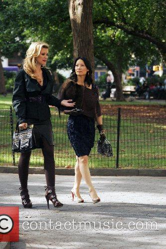 Bonnie Somerville and Lucy Liu 8