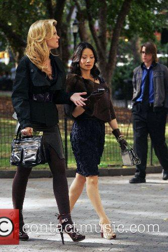 Bonnie Somerville and Lucy Liu 6