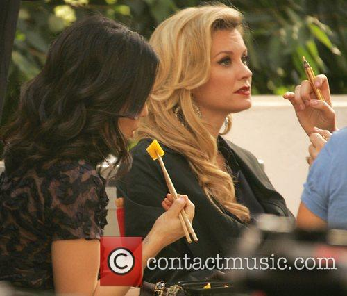 Bonnie Somerville and Lucy Liu 3