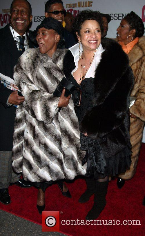 Cicely Tyson and Debbie Allen At The Arrivals For The Opening Night Performance Of Cat On A Hot Tin Roof At The Broadhurst Theatre. 8