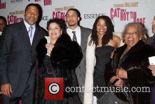 Debbie Allen and Family At The Arrivals For The Opening Night Performance Of Cat On A Hot Tin Roof At The Broadhurst Theatre. 5