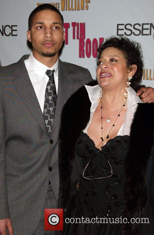 Debbie Allen and Her Son At The Arrivals For The Opening Night Performance Of Cat On A Hot Tin Roof At The Broadhurst Theatre. 1