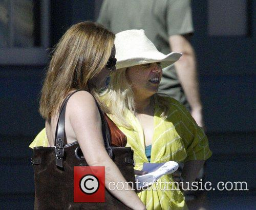 Catherine Martin out and about with a friend...